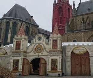 Intocht van de kerstman in Maastricht